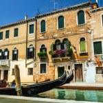 Beautiful romantic Venetian scenery — Stock Photo #72833793