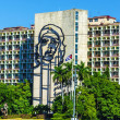 Plaza de la Revolucion with Che Guevara image — Stock Photo #72833795
