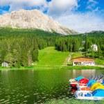 Lake Misurina, Province of Belluno — Stock Photo #72834273