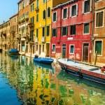 Beautiful romantic Venetian scenery — Stock Photo #72834355