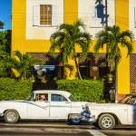 Old classic American cars  in Havana — Stock Photo #72834457