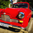 Old classic American red car — 图库照片 #72835605