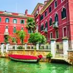 Beautiful romantic Venetian scenery — Stock Photo #72835803