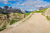 Trail around the Tre Cime — Stock Photo
