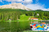 Lake Misurina, Province of Belluno — Stock Photo