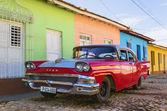 Car in the streets of Trinidad. — Zdjęcie stockowe