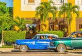Klassieke amerikaanse auto 's — Stockfoto