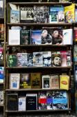 Open-air book market in Plaza de Armas — Stock Photo