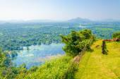 View from Monte Sigiriya, Lion Rock Fortress — Stock Photo