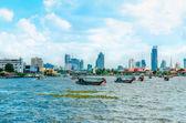 Chao Phraya River Menam in Bangkok, Thailand — Stock Photo