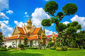 Great Palace buddhistiska tempel Bangkok, Thailand — Stockfoto