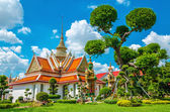 Great Palace Buddhist temple in Bangkok, Thailand — Stock Photo