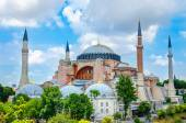 Hagia Sophia, imperial mosque and museum, Istanbul — Stock Photo
