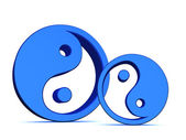 Yin yang elements — Stock Photo