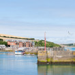������, ������: Padstow waterfront harbor