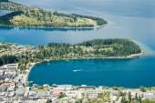 Queenstown am Ufer des Lake Wakatipu. — Stockfoto