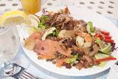 Fresh salad lunch — Stock Photo