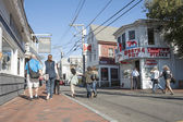 In Main Street Provincetown, Cape Cod, USA. — Stock Photo