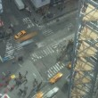 Looking down on Times Square — Stock Video #73832471