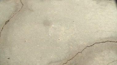 Fax machine crashes onto concrete — Stock Video