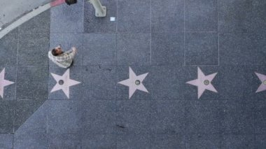 Hollywood Walk of Fame — Stock Video