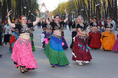 KHARKIV, UKRAINE-APRIL25 Gorky Park — Stock Photo