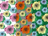 Flower seamless pattern — Stock Vector