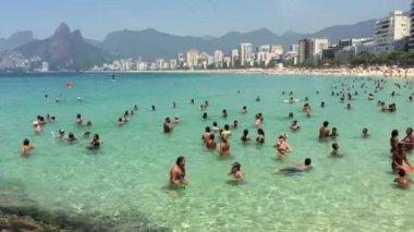 Rio de Janeiro Brazil Arpoador Summer — Stock Video