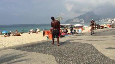 Arpoador Rio de Janeiro Brazil Morning — Stock Video