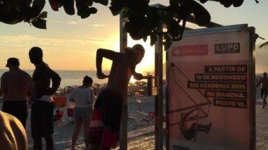Rio de Janeiro Carioca Workout — Stock Video