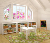 Bunte Kinderzimmer-Interieur. — Stockfoto