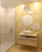 モダンなバスルームのインテリア. — ストック写真