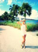 Ideal vacation near the ocean. — Stock Photo