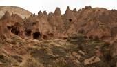 Famous city  Cappadocia in Turkey — Stock Photo