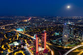 Aerial wiev istanbul — Stock Photo