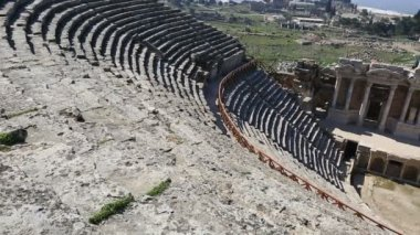 Ancient city of Hierapolis 10 — Stock Video