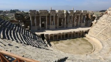 Ancient city of Hierapolis13 — Stock Video
