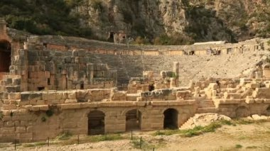 Ancient city of Myra 3 — Stock Video
