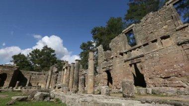 Ancient city of Seleucia (Lybre) 5 — Stock Video