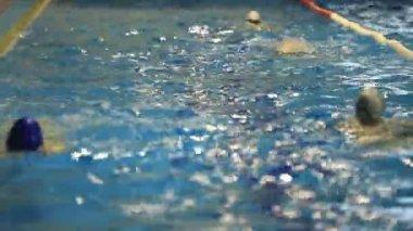 Swim training 2 — Stock Video
