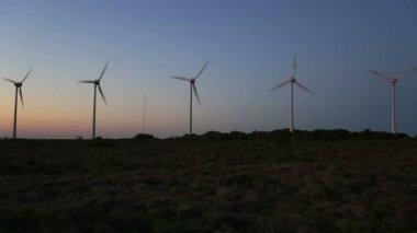 Wind turbine, windmill, green energy, renewable energy — Stock Video