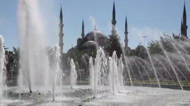 Blue Mosque Scene HD 1080p — Stockvideo