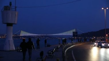 City life at istanbul — ストックビデオ