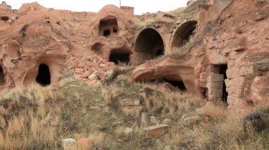 Famous city  Cappadocia in Turkey — Stock Video