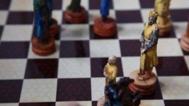 Playing Chess HD 1080p — Stock Video