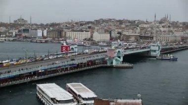 Galata Bridge 2 — Stock Video