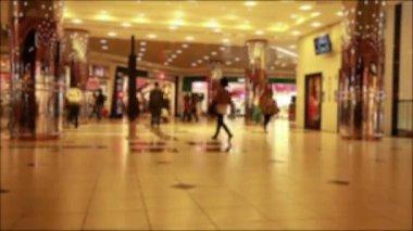 Торговый центр — Стоковое видео