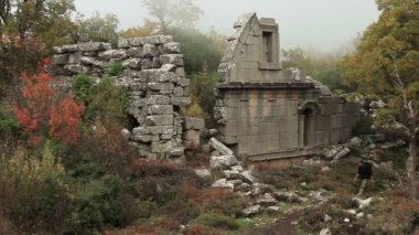 Ancient city of Termessos — Stock Video