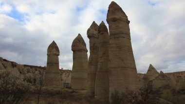 Famous city  Cappadocia in Turkey — Stock Video