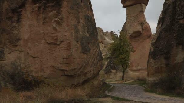 Famosa ciudad de Capadocia en Turquía — Vídeo de stock